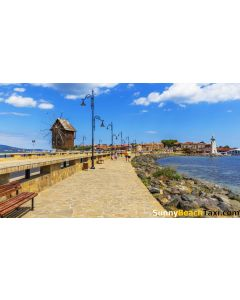 Return Trip With Taxi / Shuttle to old town Nesebar